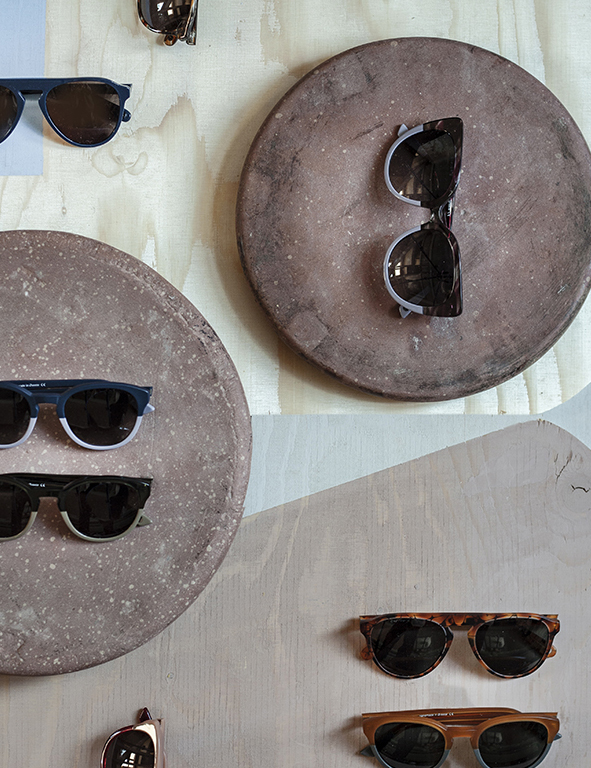 Sunglasses from Akenberg. Photo & styling: BYN Collective