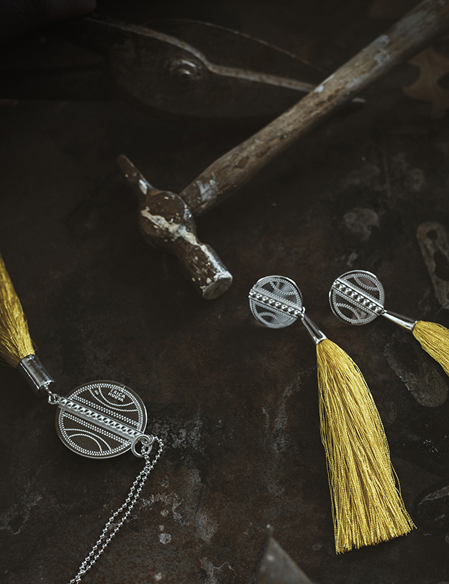 Jewelry by Erica Huuva. Photo & styling: BYN Collective